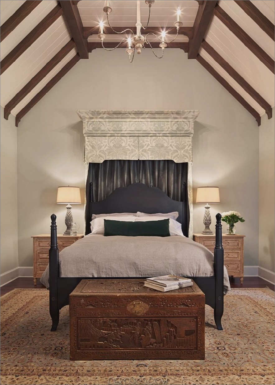 Exotisches Schlafzimmerdesign von Hyde Evans Design