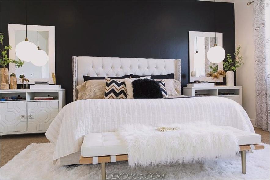 Monochromatisches Schlafzimmer von Judith Balis