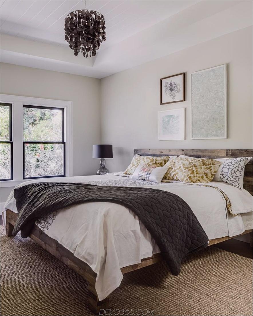 Bescheidenes aber elegantes Schlafzimmerdesign von Lindsay Chambers