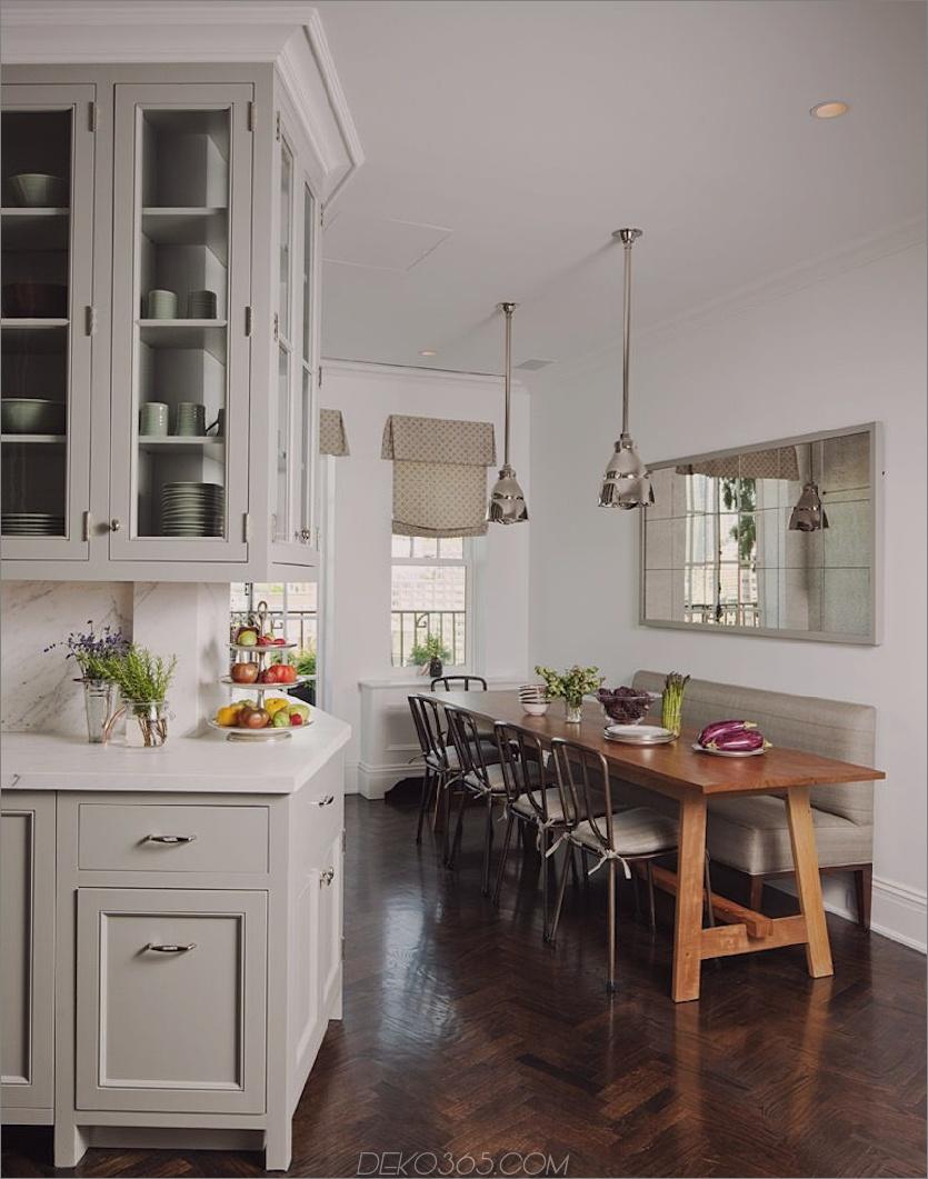 Gemütliche Küche passt in ktichen Stilvoll essen Sie in Küchen, die gerade angesagt sind