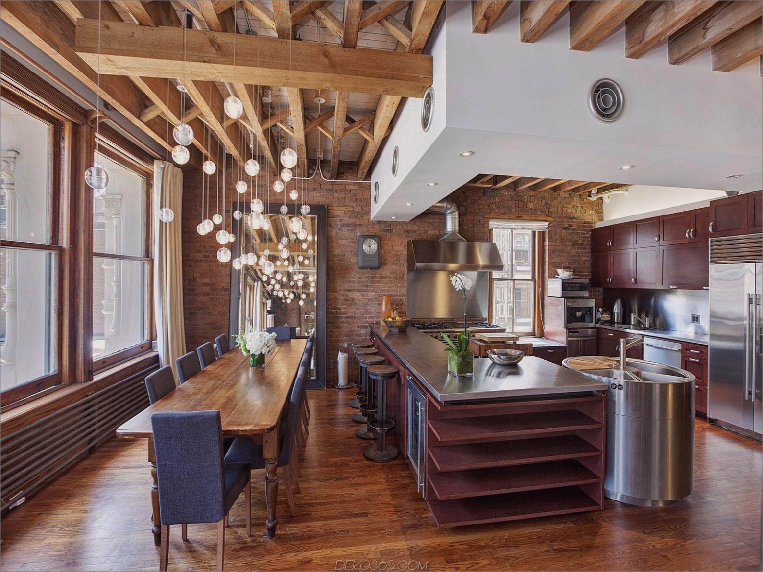offene Grundrissküche Stilvoll essen Sie in Küchen, die gerade angesagt sind