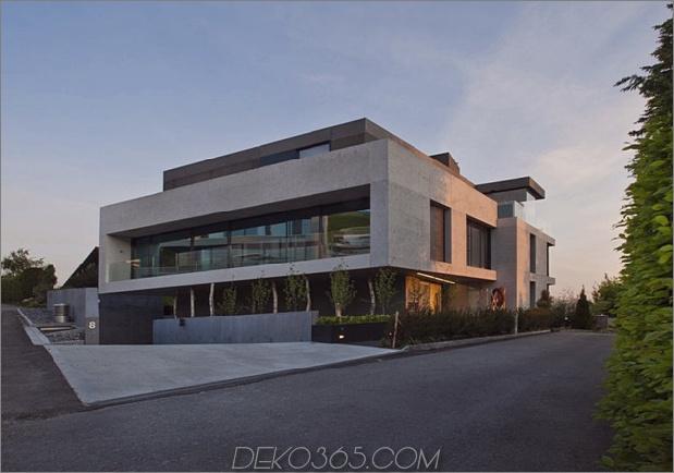 Viel Stil in einem kühlen Betonhaus 2 thumb 630x441 10811 Stilvolles und geräumiges Betonhaus
