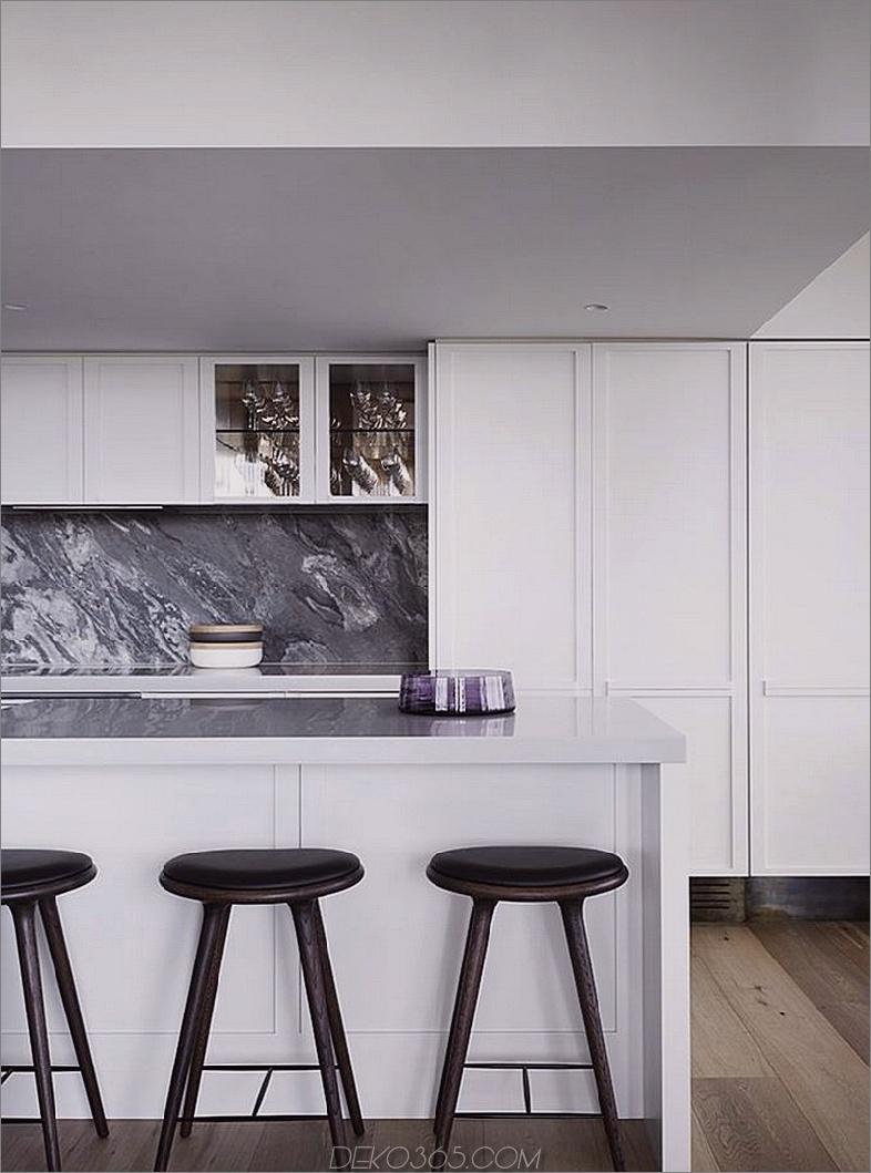 Theke ist der perfekte Frühstückssnack. Studio Tate Renoviert ein Penthouse in Melbourne im LA Glamour Style