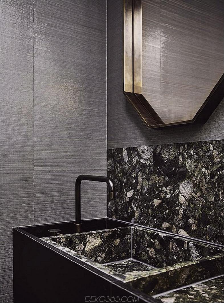 Eines der Badezimmer ist alles Luxus