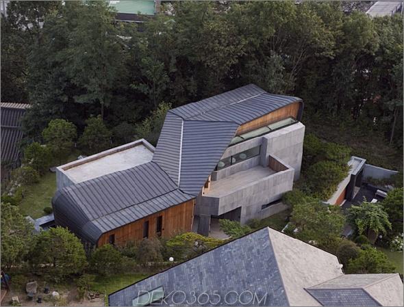 z Haus 1 Südkorea Architektur erstaunliches Betonhaus
