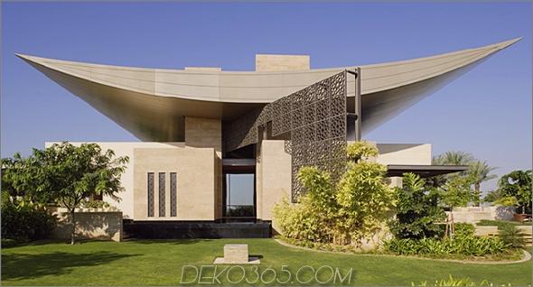 Helal New Moon Residenz Super Luxury Home in den Vereinigten Arabischen Emiraten ein Wüstenparadies auf der Erde
