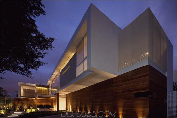 t-förmiges zeitgenössisches mexikanisches Haus 1 thumb 630x420 26952 T-förmiges zeitgenössisches mexikanisches Haus