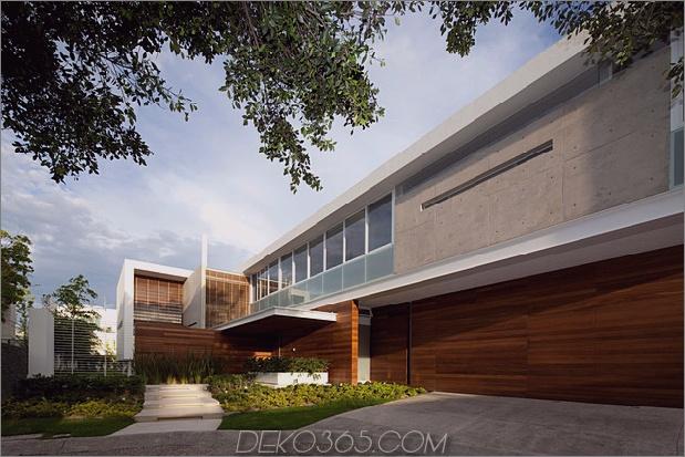 t-förmiges zeitgenössisches mexikanisches Haus 2 thumb 630x420 26954 T-förmiges zeitgenössisches mexikanisches Haus