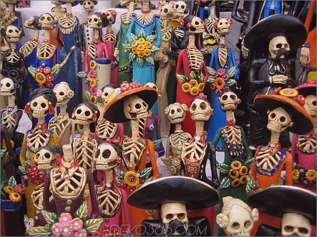 Tag der Toten Dekor: Es ist das neue Halloween
