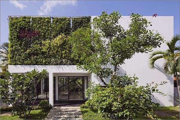 Renovierung verwandelt offene Wohnwände nach Hause 1 thumb 630xauto 48222 Thao-Dien-Haus: Großraum mit lebenden Wänden