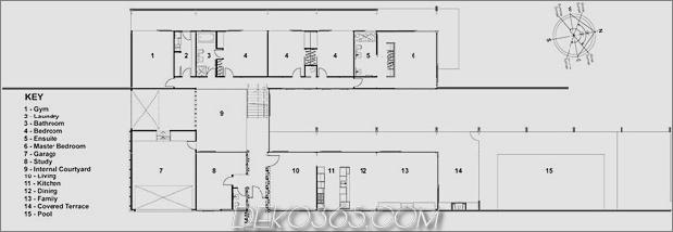 abgestufte U-förmige Abhang-zu-Haus-freiliegende Stahlelemente-13-plan.jpg