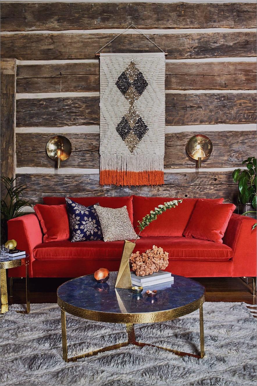 Jewel-getöntes Sofa