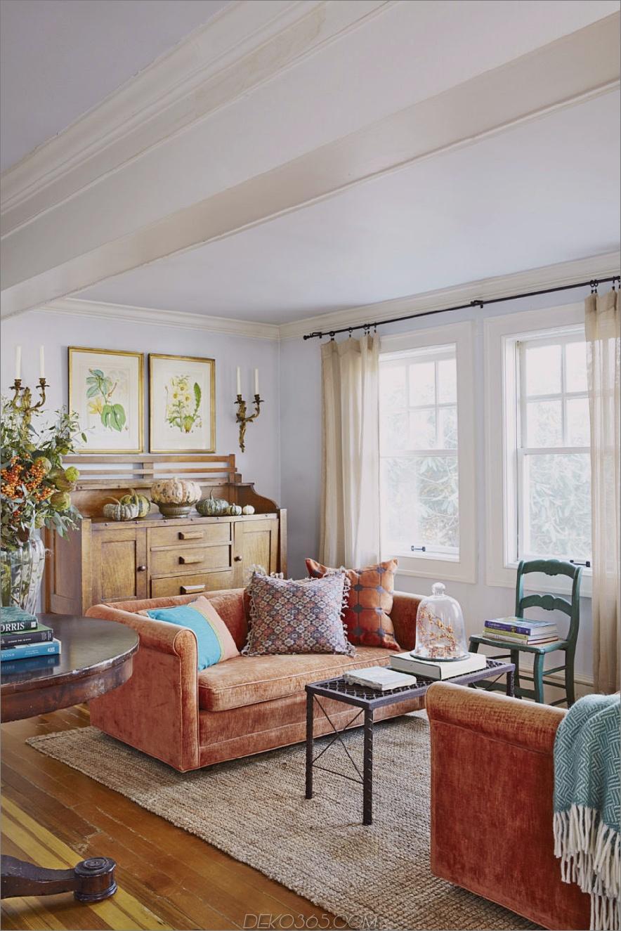 Doppel orange Wohnzimmer Sofa