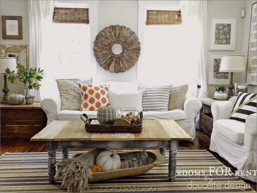 Herbst Wohnzimmer Dekor