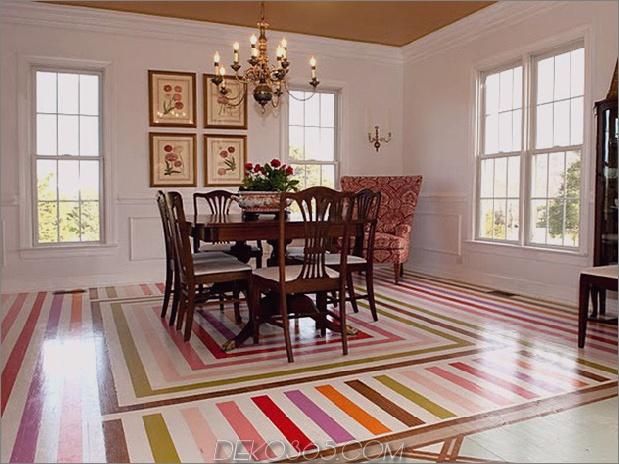Esszimmer-stenceled-in-color-stripes.jpg