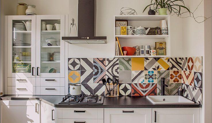 Top 15 Patchwork Fliese Backsplash Designs für die Küche_5c590c6d6ba7b.jpg