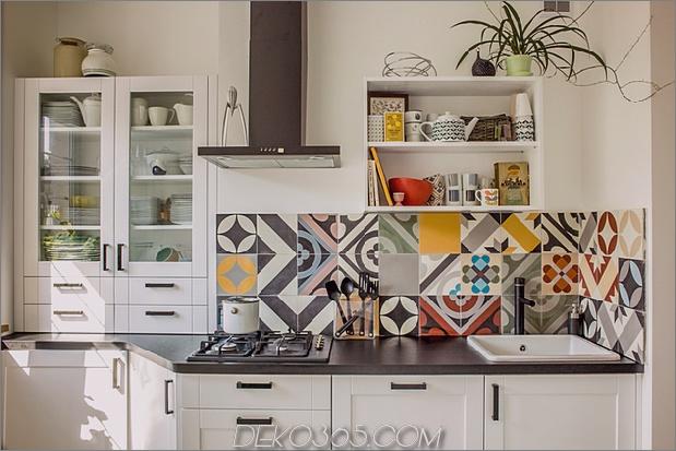 Top 15 Patchwork Fliese Backsplash Designs für die Küche_5c590c6e7611d.jpg