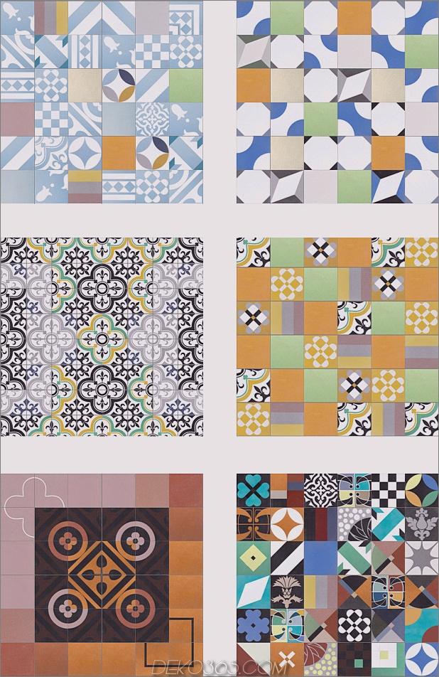Top 15 Patchwork Fliese Backsplash Designs für die Küche_5c590c6f095a7.jpg