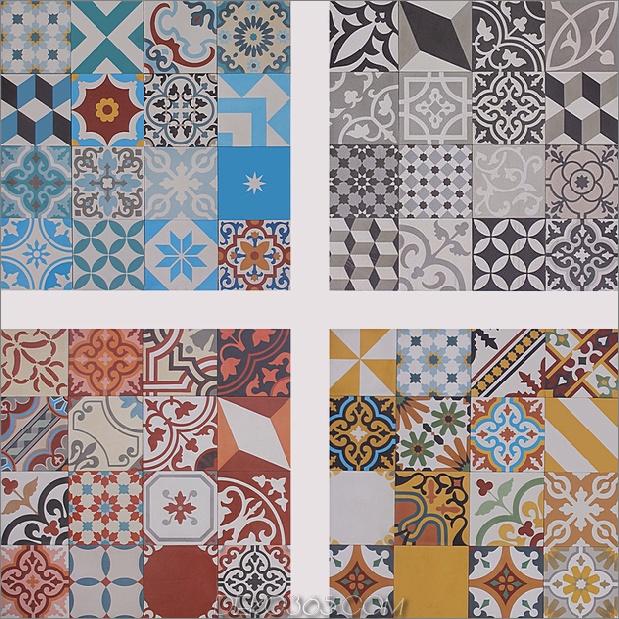 Top 15 Patchwork Fliese Backsplash Designs für die Küche_5c590c713e60a.jpg