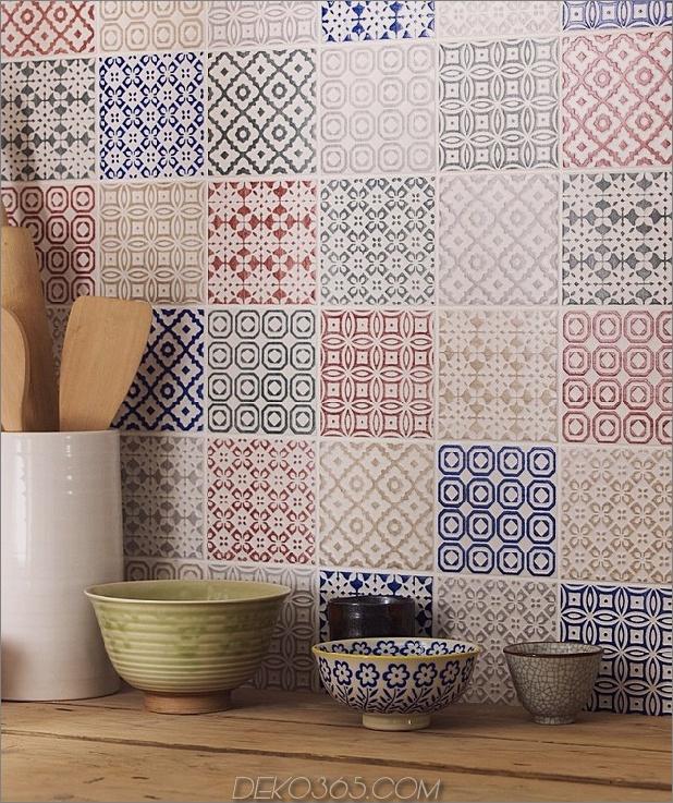 Top 15 Patchwork Fliese Backsplash Designs für die Küche_5c590c71ac537.jpg