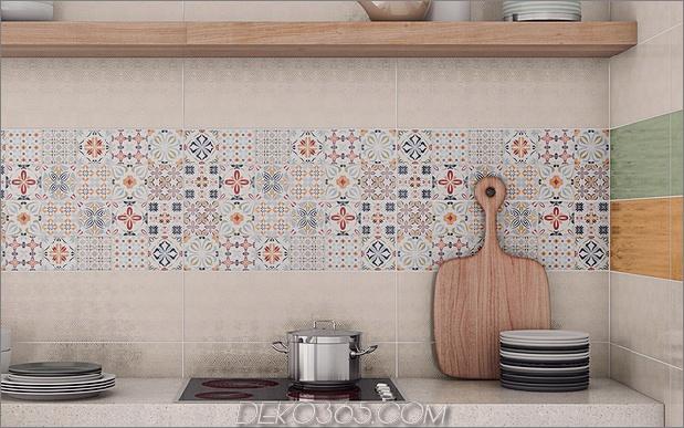 Top 15 Patchwork Fliese Backsplash Designs für die Küche_5c590c768d188.jpg