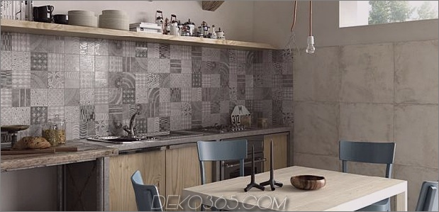 Top 15 Patchwork Fliese Backsplash Designs für die Küche_5c590c773460c.jpg