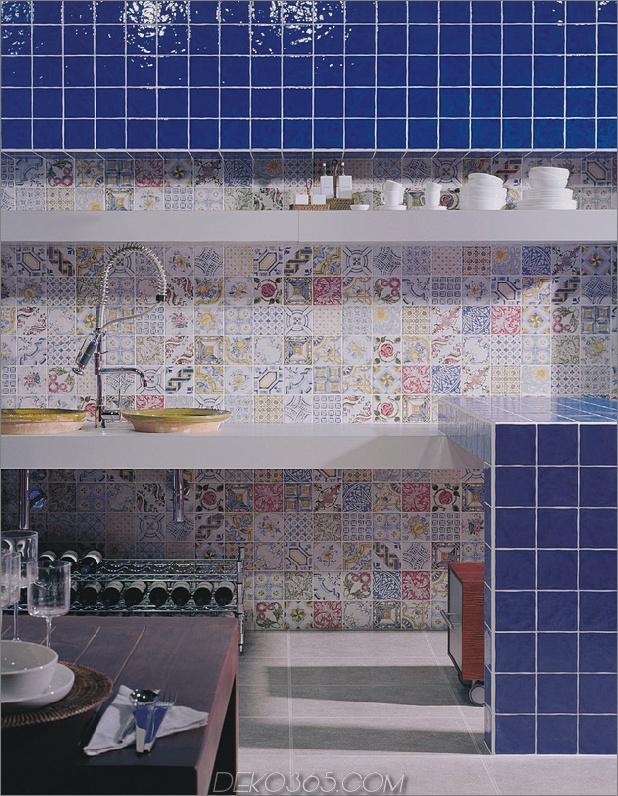 Top 15 Patchwork Fliese Backsplash Designs für die Küche_5c590c799c39d.jpg