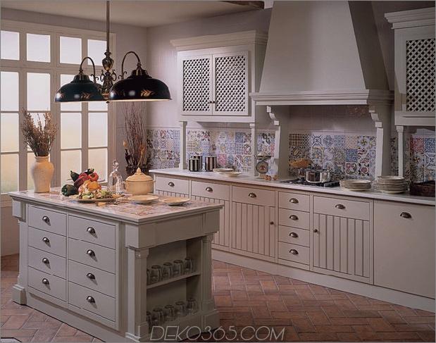 Top 15 Patchwork Fliese Backsplash Designs für die Küche_5c590c7a000f0.jpg