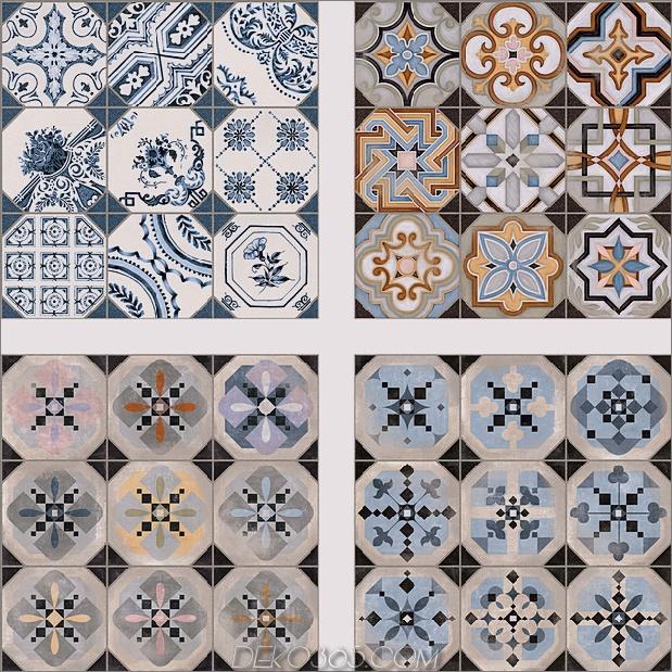 Top 15 Patchwork Fliese Backsplash Designs für die Küche_5c590c7b72f79.jpg