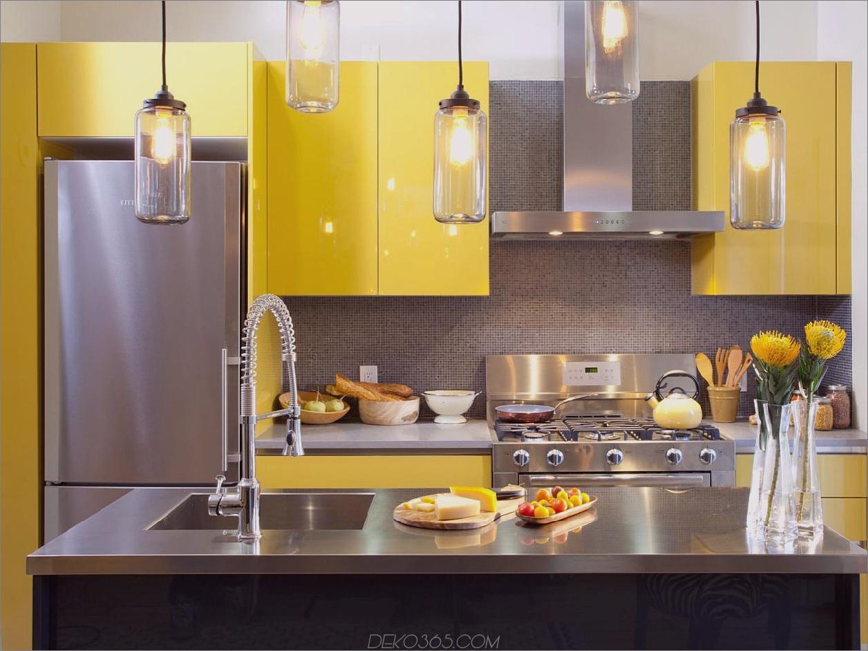 farbenfrohe Küche 3 Trendige, fesselnde Designstile, die Sie jetzt ausprobieren können