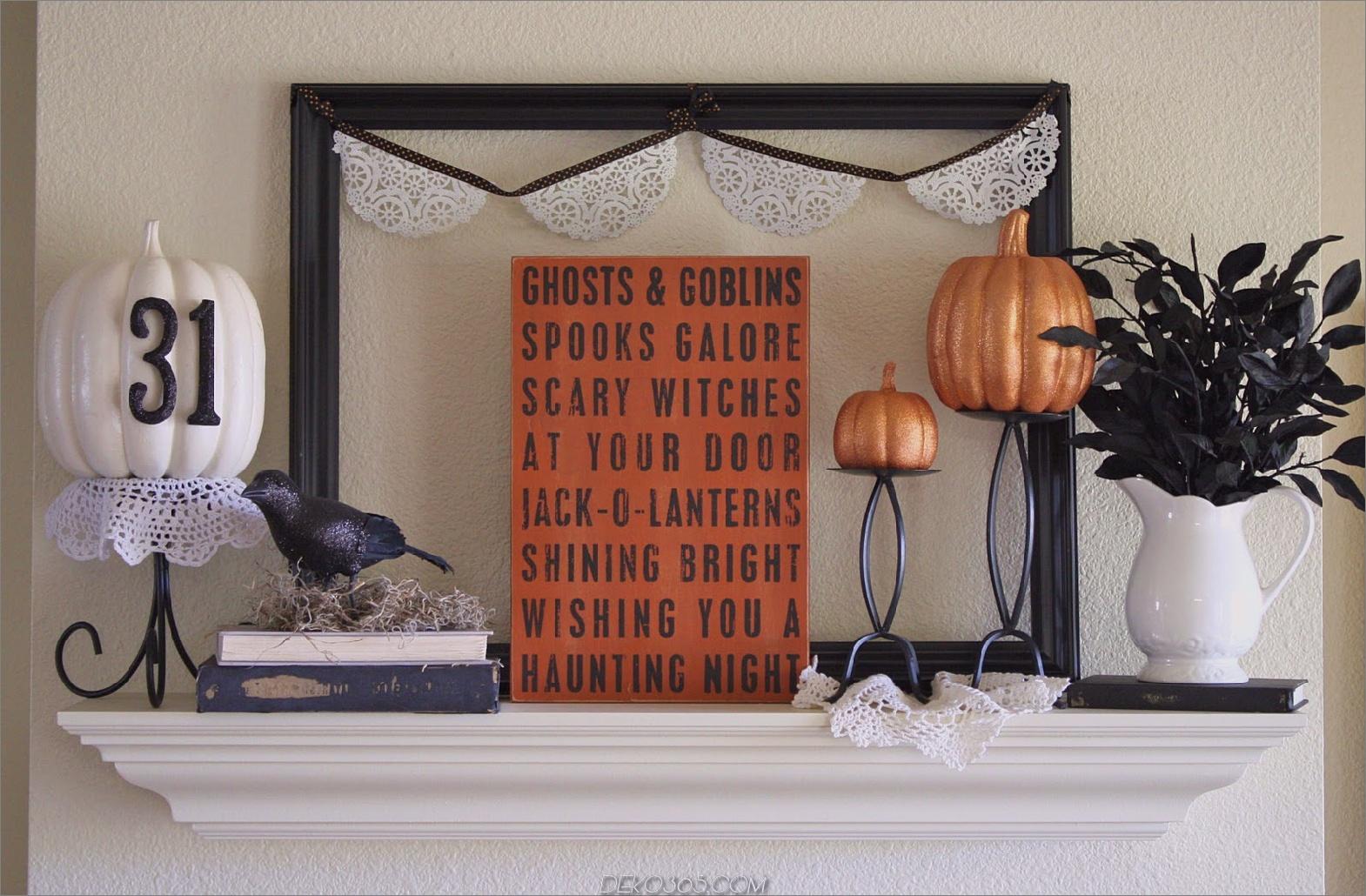 Holz Kürbis Trendy Halloween Dekorationen für Spooktacular Style