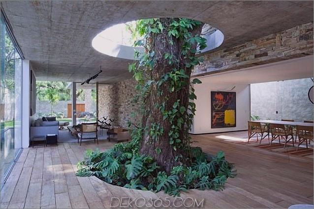 Um Bäume gebaute Häuser: 13 kreative Beispiele_5c58f6a7ac207.jpg