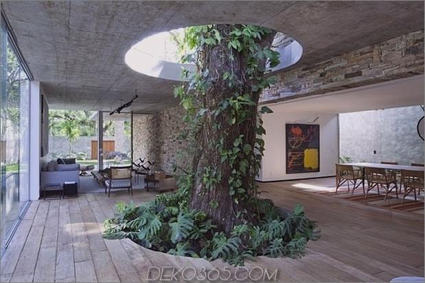 Um Bäume gebaute Häuser: 13 kreative Beispiele_5c58f6b38fe9d.jpg