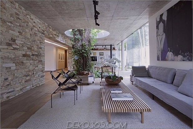 Um Bäume gebaute Häuser: 13 kreative Beispiele_5c58f6b3f215a.jpg