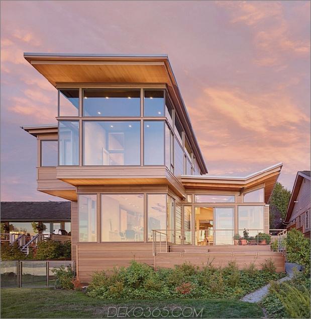 2 umweltbewusstes hausgemachtes Haus am Wasser thumb autox645 63109 Umweltbewusstes Zuhause Schaufenster Schöne Handwerkskunst