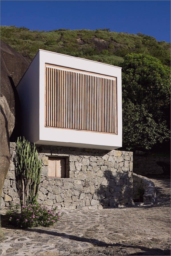 Kastenhaus 1 Ungewöhnliches Haus in Brasilien