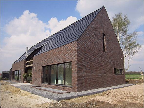 Ungewöhnliches Scheune inspiriertes Haus von niederländischen Spot-Architektur 2 Ungewöhnliches Scheune inspiriertes Haus von Netherlands SPOT Architecture