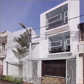 Split House mit doppelter Persönlichkeit zum Leben und Arbeiten