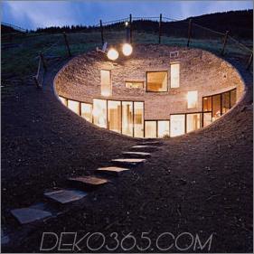 Underground Home Designs - Swiss Mountain House Rocks!