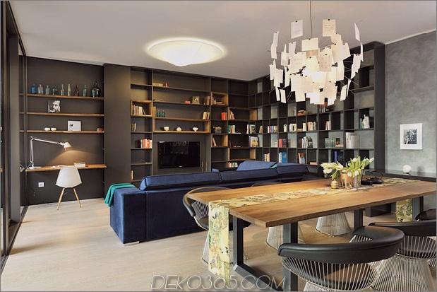 artsy elements apartment fun funktional 2 soziales thumb 630xauto 45428 Urban Apartment Dekorationsstil Mischen Spaß mit Funktionellem