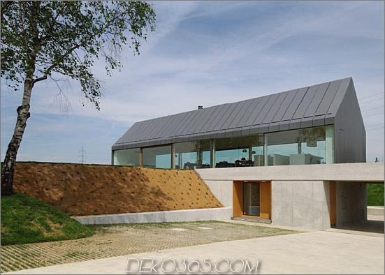 Haus hb 2 Urban Farmhouse in Slowenien Landschaft eine Scheune außerhalb, städtisch innen