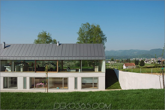 haus hb 3 Urbanes Bauernhaus in Slowenien Landschaft draußen eine Scheune, innen städtisch