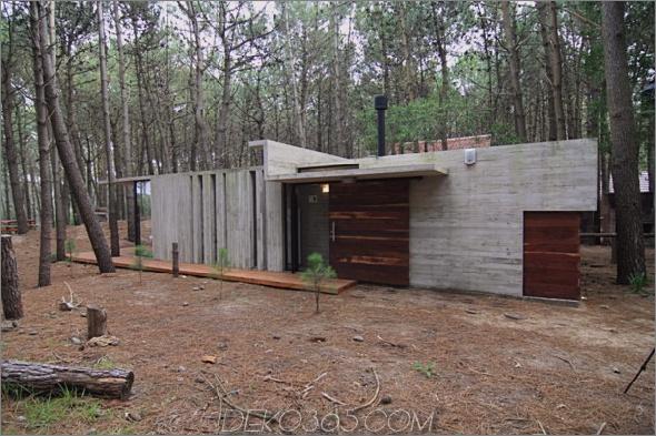 casa xs 1 Ferienhaus rustikales Betonhäuschen für minimalen Unterhalt