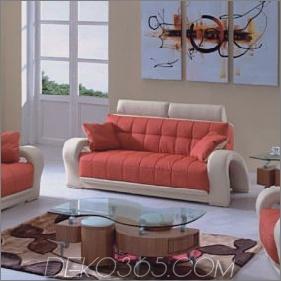 Modernes Sofadesign in Orange 285x285 Mit diesen modernen Sofas können Sie den gesamten Look Ihres Wohnzimmers verändern