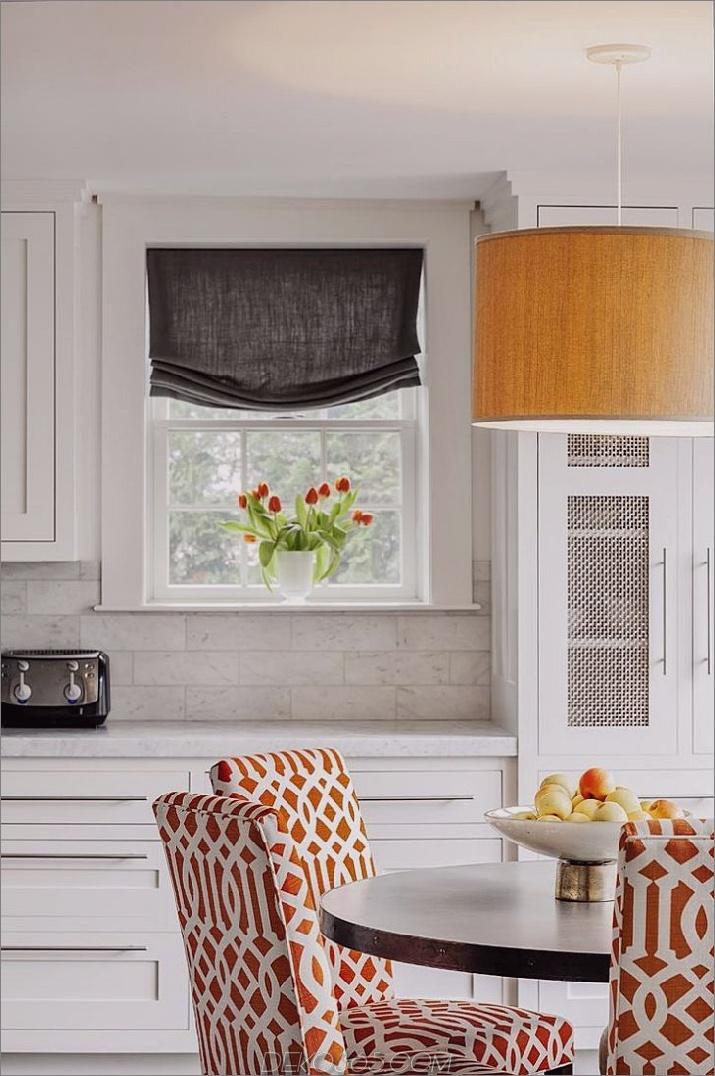 warme orange Küche Verschönern Sie Ihr Zuhause mit einer orangefarbenen Küche