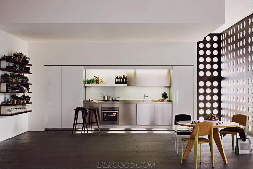 Versteckte Küche von Molteni & Dada