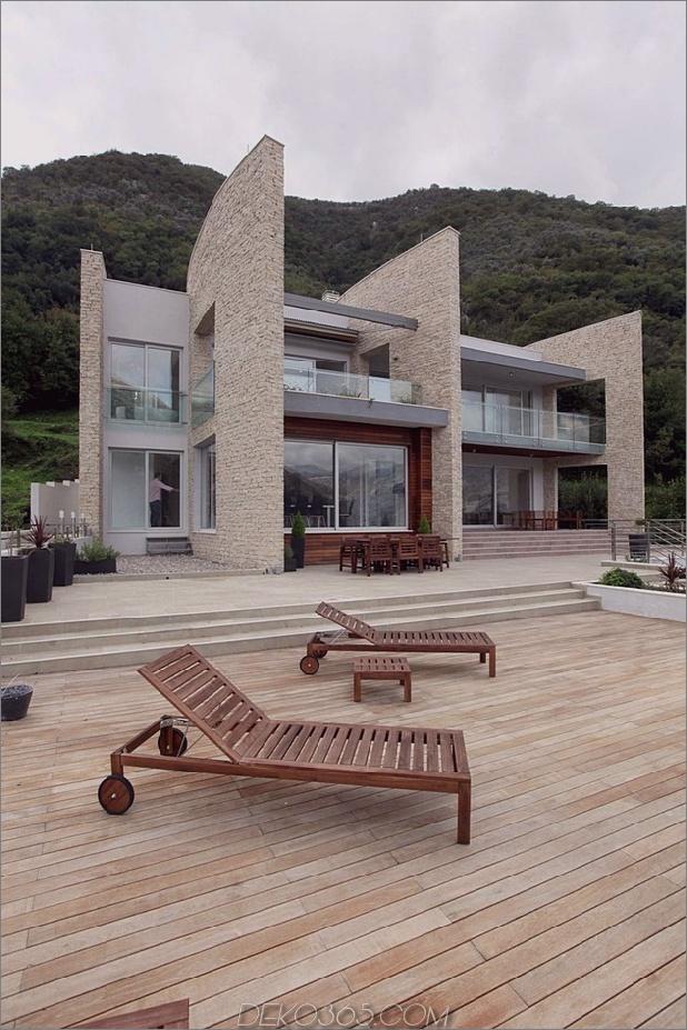 Villa mit gebogenen Steinwänden auf adriatischem Meer-4.jpg