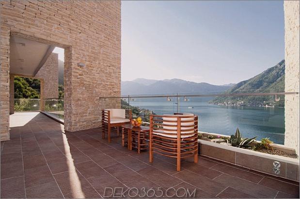 Villa mit gekrümmten Steinmauern auf adriatischem Meer-10.jpg