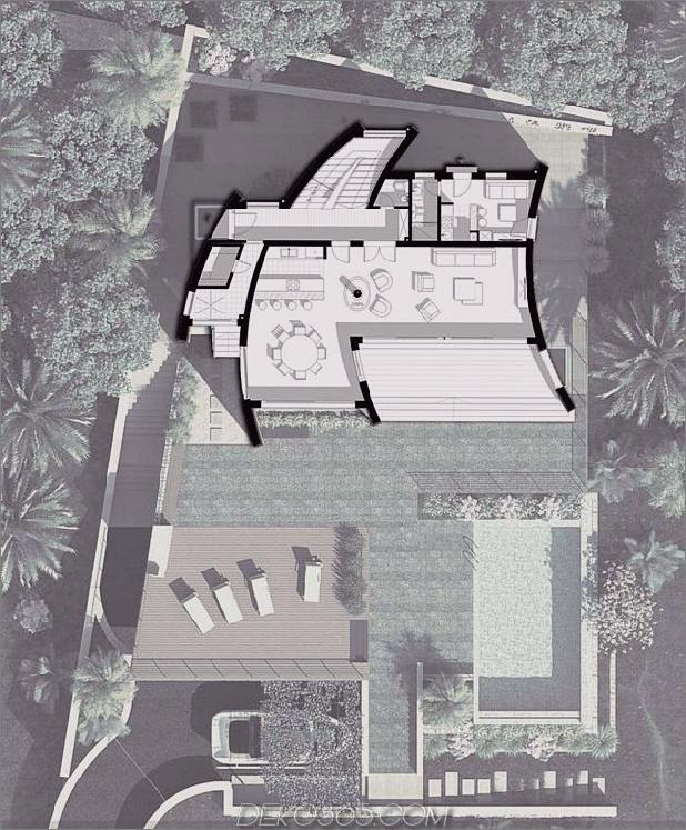 Villa mit gebogenen Steinmauern auf Adria-Meer-15.jpg
