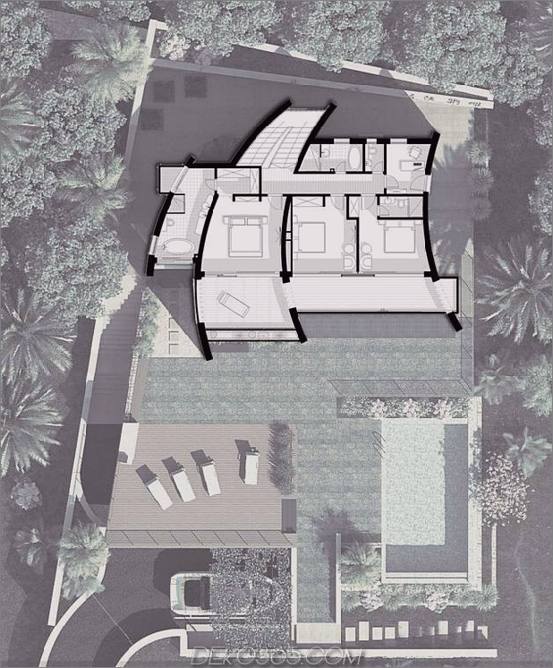 Villa mit gekrümmten Steinmauern auf Adria-Meer-16.jpg